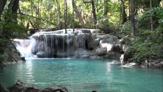 Erawan Falls, Kanchanaburi, Thailand.