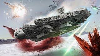 Star Wars: The Last Jedi OST - Crait TIE Fighter Attack