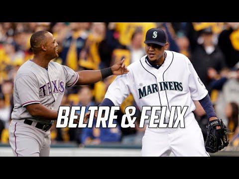 MLB  Adrian Beltre & Felix Hernandez