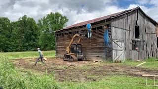 Barn shed remodel time lapse