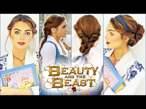 Thumbnail: Emma Watson's Belle Hairstyles | Beauty & The Beast Tutorial🥀