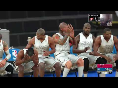 NBA2K17 who is better the 2012-13 Miami Heat or the 2016- 17 Golden State Warriors