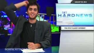 Hard News - Pen throw montage/ compilation (ScrewAttack) feat. Jared, Nick, Bryan & Lauren