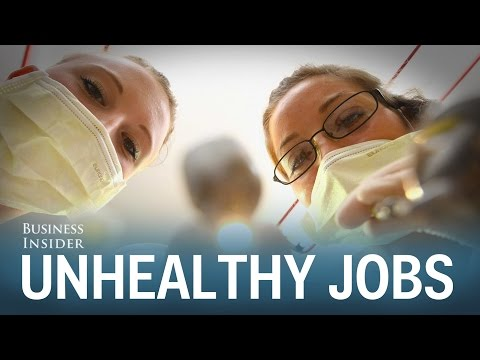 Worst jobs for health