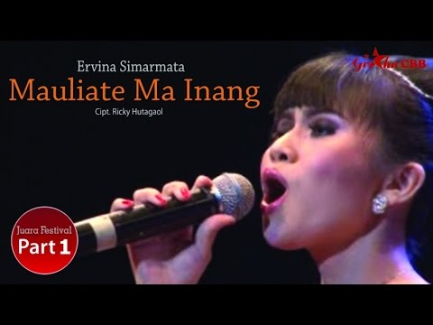 Ervina Simarmata - Mauliate Ma Inang (Official Music Video)