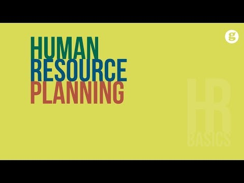 HR Basics: Human Resource Planning
