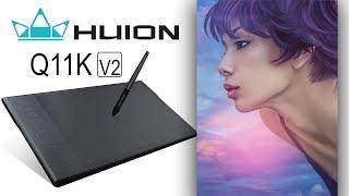 ОБЗОР и РОЗЫГРЫШ графического планшета. Обзор Huion Q11K-V2. Розыгрыш Huion H640P