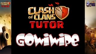 Clash of Clans - GoWiPe TH9 Clan Wars Attack Strategy