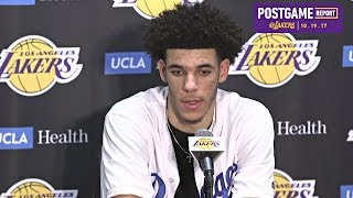 Lonzo Ball On Beef With Patrick Beverley, His Debut & More | 10/19/17