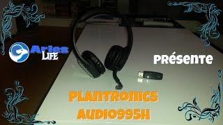Le Casque Sans Fil Plantronics Audio995H