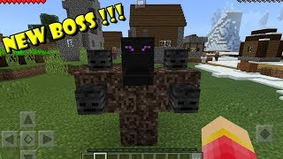 How to Spawn the Ultimate BOSS | Minecraft PE