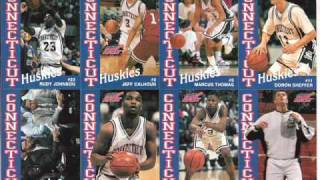 UCONN BASKETBALL 1992-96 University of Connecticut
