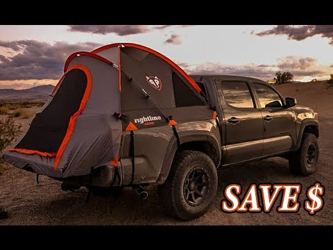 How To Overland On A Budget Rightline 5 Ft Bed Tent How