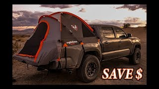HOW TO OVERLAND ON A BUDGET | RIGHTLINE 5 FT BED TENT HOW TO INSTALL & IS IT WORTH IT?
