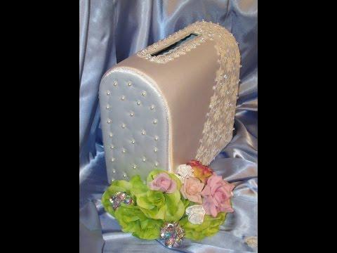 Сундучек для денег на свадьбу - казна молодоженов своими руками. Wedding Box. Мастер-класс.