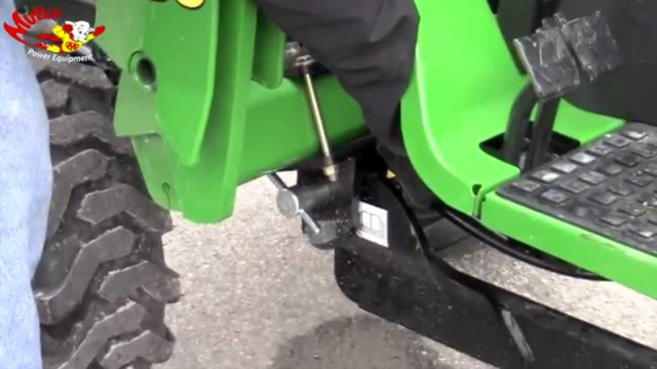 How To Remove A John Deere 46 Backhoe Youtube