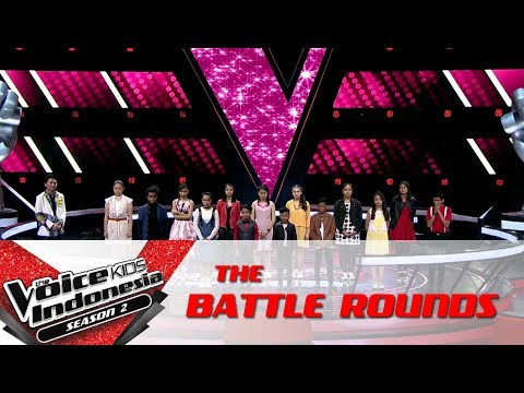 And The Winner 'Coach Save' Team Agnez Mo Is.. | Battle Rounds | The Voice Kids Indonesia S2GTV 2017