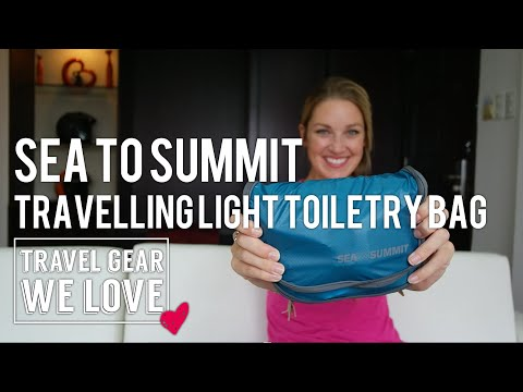 Sea to Summit Travelling Light Toiletry Bag (Small) Review | Travel Gear We Love
