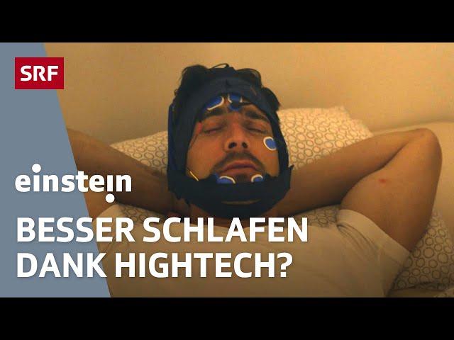 Schlafstörungen - was Apps helfen und ob Netflix Gift für den Schlaf ist   SRF Einstein