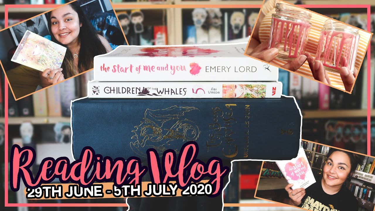 A Very Boring Book, Being a Cynical Old Witch & A Short Singalong // READING VLOG #100 // 2020