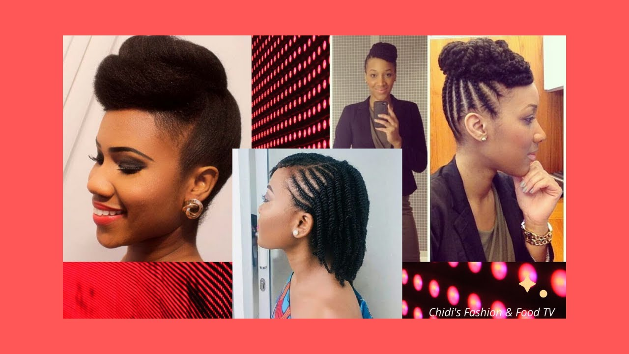 Latest Easy Quick Natural Hairstyles For Black Women 2019 2020