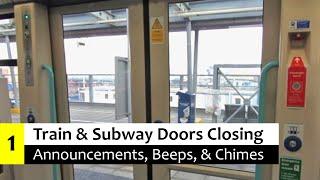 Train & Subway Door Closing Annoucements, Beeps, & Chimes