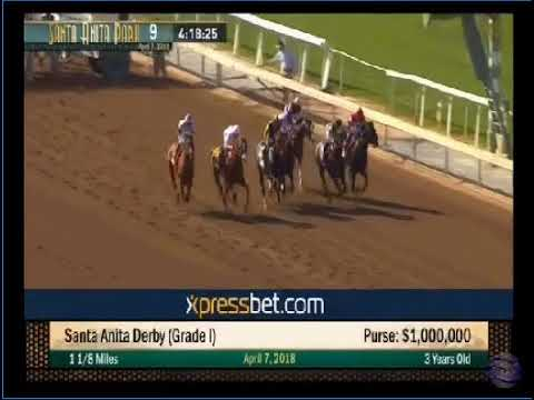 Santa Anita Derby 2018 Youtube