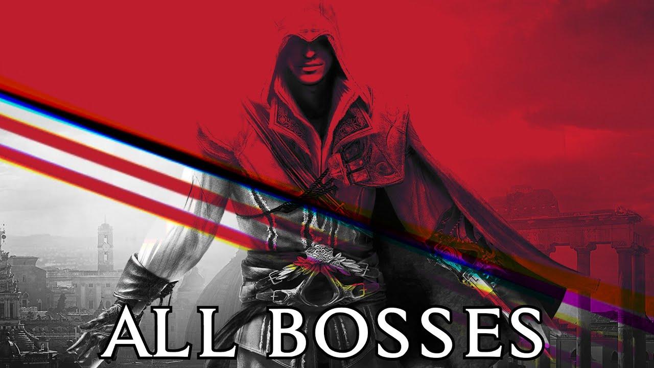 Assassin's Creed 2 All Bosses + Ending [1080p, 60fps]
