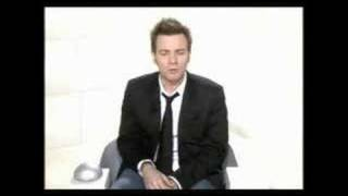 Ewan McGregor à la France and he gave an Interview