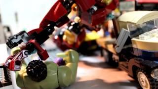 LEGO Avengers: Age of Ultron Movie Clip - Hulk vs Hulkbuster