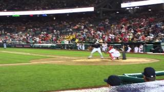 Atlanta Braves vs. Washington Nationals 7/20/12 - Michael Bourn 2-Run Triple (HD)