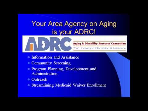 Area Agencies on Aging (AAA) Training for MLTSS
