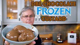 Incredible Double Chocolate Fudgesicle Frozen Custard Ice Cream || Glen & Friends Cooking