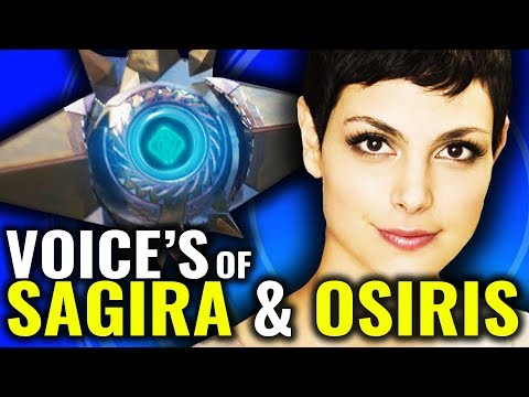 Why Osiris & Sagira Sound So Familiar [Destiny 2 - Curse Of Osiris]