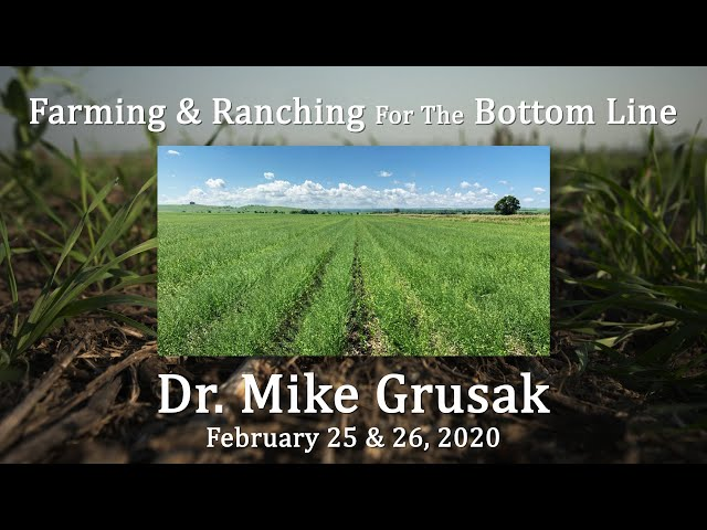 Dr  Mike Grusak BSC Feb 2020