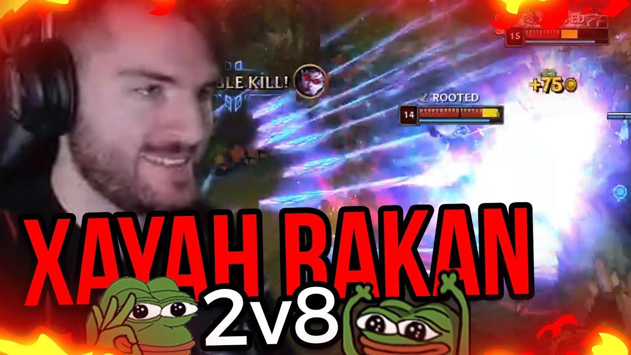 Xayah Rakan CARRY ?!   Kutcher Stream Highlights