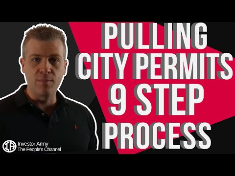 Pulling City Permits 9 Step Process