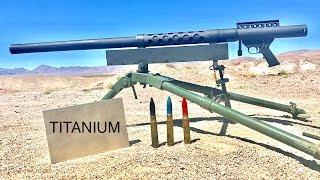 20MM VS TITANIUM - WILL TITANIUM STOP A CANNON? thumbnail