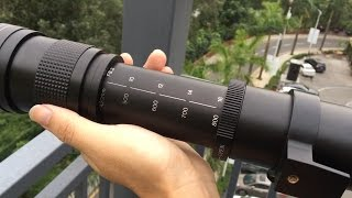 420-800mm F/8.3-16 HD Super Telephoto Manual Zoom Lens