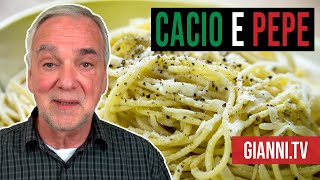 Cacio e Pepe: Italian Mac and Cheese, Viewer's Choice Special, Italian Recipe - Gianni's North Beach