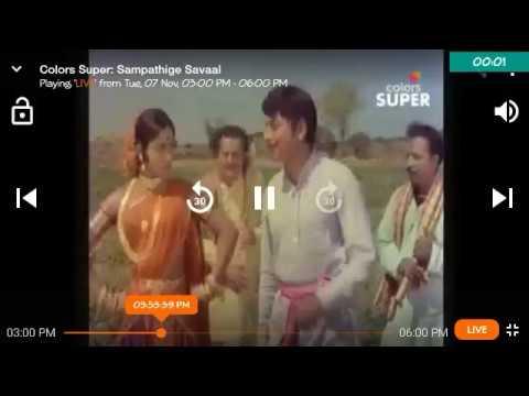Manjula scolding Rajkumar( awesome scene)