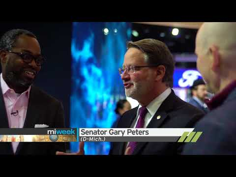 Auto Show/Senator Gary Peters   MiWeek Full Episode