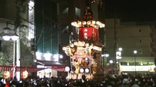 2016菅原町<菅原道眞の山車>川越まつり10/21