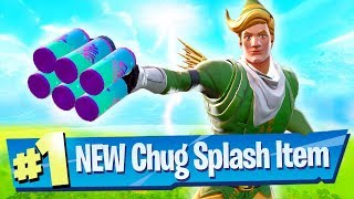 NEW Chug Splash Gameplay + Loot Lake Destroyed! - Fortnite Battle Royale