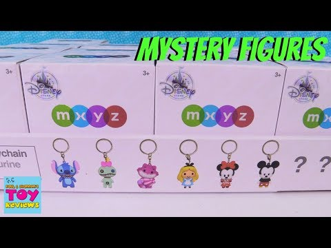 Disney Store MXYZ Mystery Keychain Blind Box Opening Toy Review | PSToyReviews