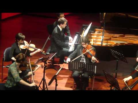 TIMOTHY DURKOVIC: Chopin Piano Concerto No. 2, Second Movement excerpt. Chamber Version
