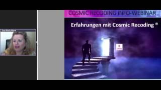 COSMIC RECODING INFO WEBINAR
