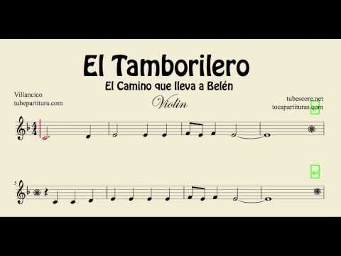 The Little Drummer Boy Sheet Music For Violin El Tamborilero