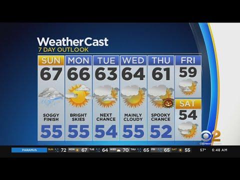 New York Weather: 10/27 Sunday Forecast