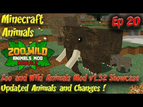 ZAWAM Mod Animal Showcase v1 32 Minecraft Animals Ep20